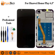 For Huawei Honor Play LCD Display+Touch Screen+Frame Sensor Digitizer Assembly Screen Replacement For Huawei Honor Play 6.3