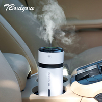 TBonlyone 230ML Ultrasonic Air Humidifier 7 Colors Changing Essential Oil Aroma Diffuser USB Mini Aromatherapy Car