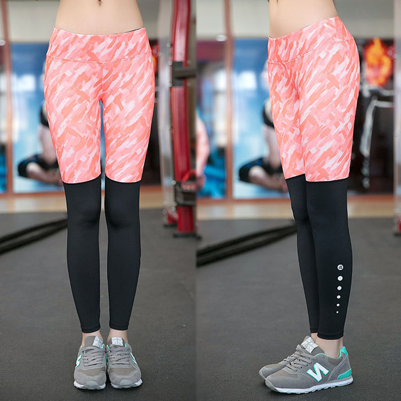 e0e3834fcc Fitness Yoga Pants Running Tights Women 3D Printed Sport Pants Breathable  Quick Dry Compression Pants Woment