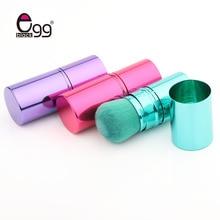 цена на Hot Sell Brand Fashion Pro Retractable Makeup Blush Brush Powder Cosmetic Adjustable Face Powder Brush cosmetic Brush