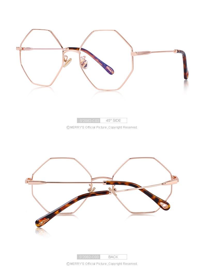 7e2456bedd 2019 MERRY S DESIGN Women Men Fashion Optical Glasses Frames Classic ...