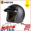 ZS MOTOS Brand New Vintage Motorcycle Helmet For Harley Open Face Retro Half Helmets Moto Capacete