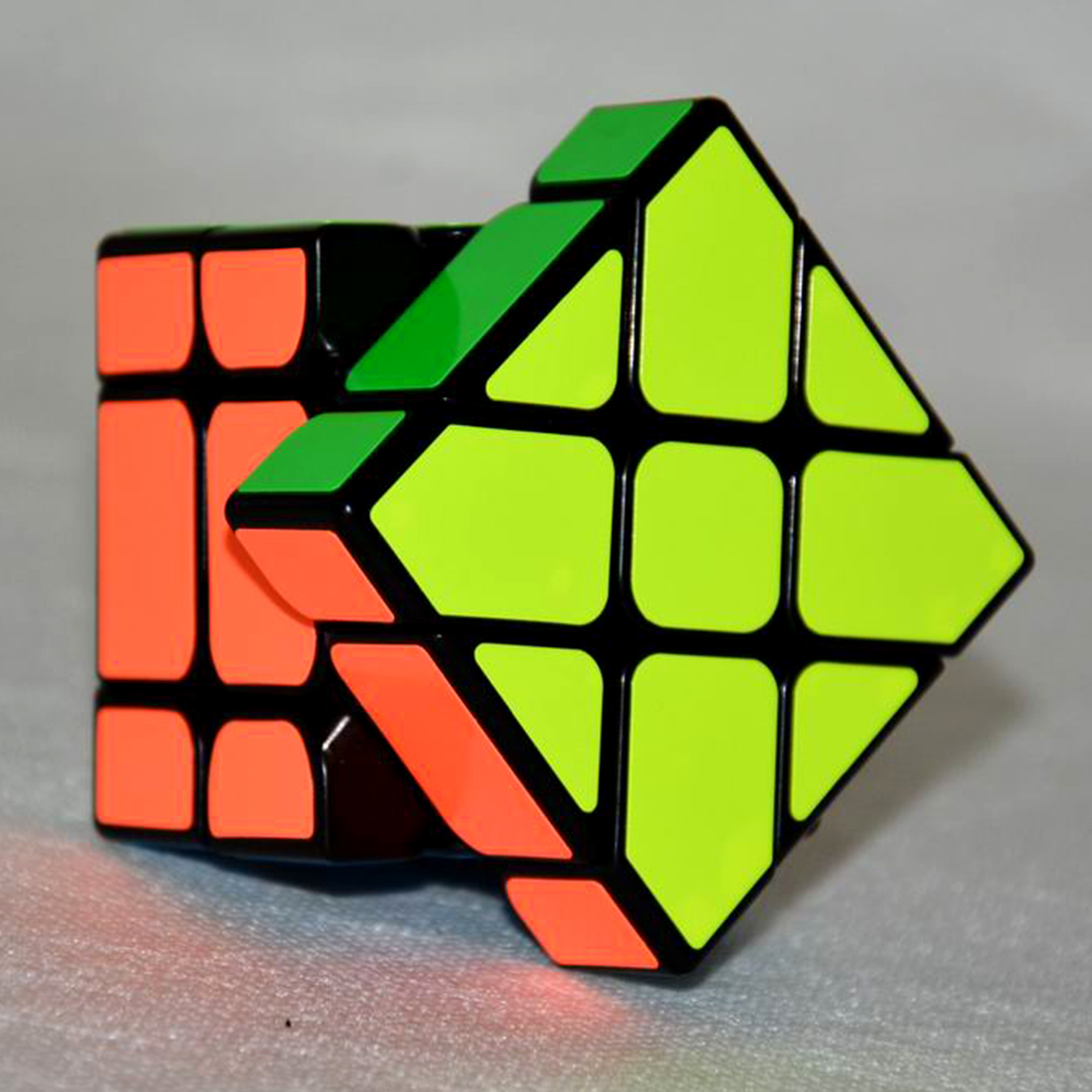 Image 4 - New Arrival YongJun YJ Speed 3X3X3 Fisher Cube Magic Cubes Speed Puzzle Learning Educational Toys For Children Kids cubo magico-in Magic Cubes from Toys & Hobbies