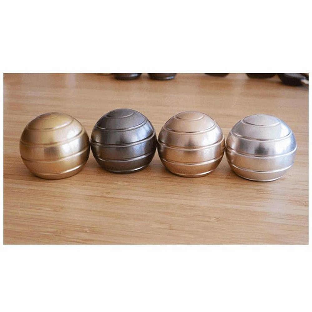 Настольный металлический Sphere Spinner мяч спиннер EDC рельеф ручной сенсор Непоседа гаджет анти-Игрушка антистресс Магнитная орбита