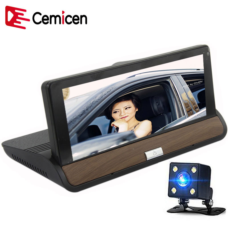 Cemicen 7 IPS 3G Wifi Car DVR Camera Android 5 0 GPS Navigation Video Recorder Bluetooth