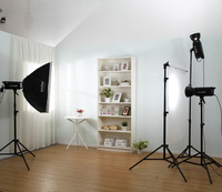 Adearstudio Big Bulk Good 600W*3 The Cheapest Bowens Mount Mini Studio Light Kit CD50