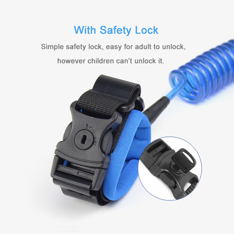 Upgrade Kids Anti Lost Wrist Link With Lock Toddler Baby Walker Wristband Child Leash Safety Harness Outdoor Walking Strap Rope   Happy Baby Mama