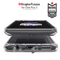 Ringke Fusion For OnePlus 5 Case Clear PC Back And Soft Frame Hybrid For OnePlus 5