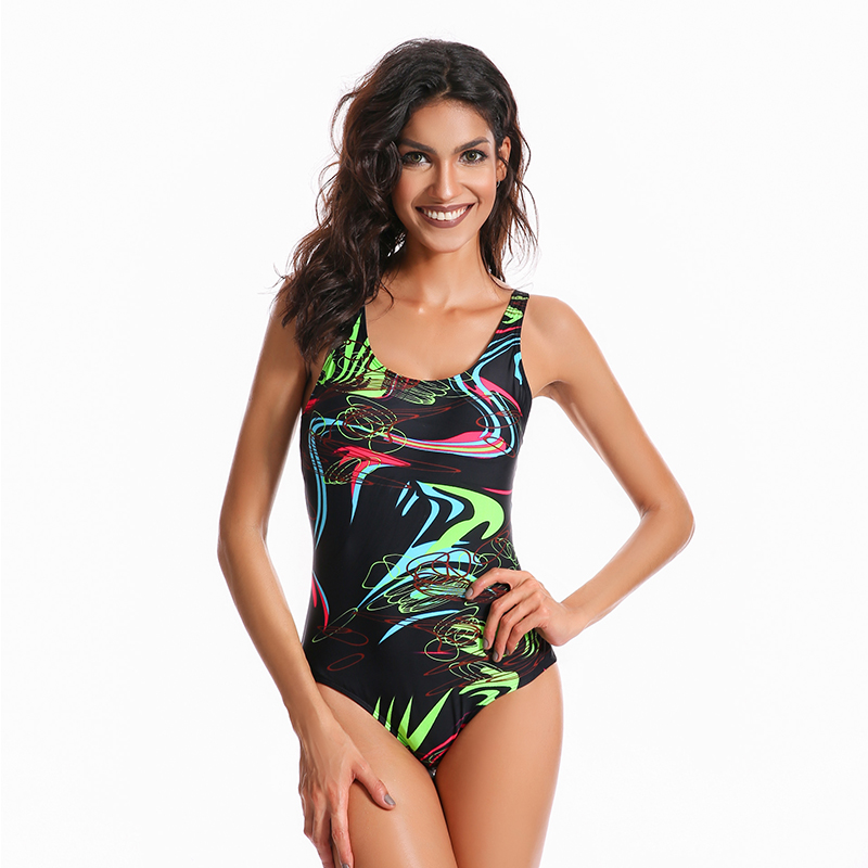 Push Up Plus Size Swimwear Women Racing Competition One Piece Swimming Suit Large Size Bathing Suit Female Bodysuits Beach Wear phinikiss printed racing swimwear large size one piece suit professional swimsuit sport bathing suit competition 2016 triathlon