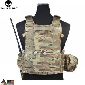 Image 2 - EMERSONGEAR gilet tactique LBT avec pochette Mag Molle, gilet de sangle de poitrine, gilet de Combat militaire Airsoft de Paintball, Multicam EM7440