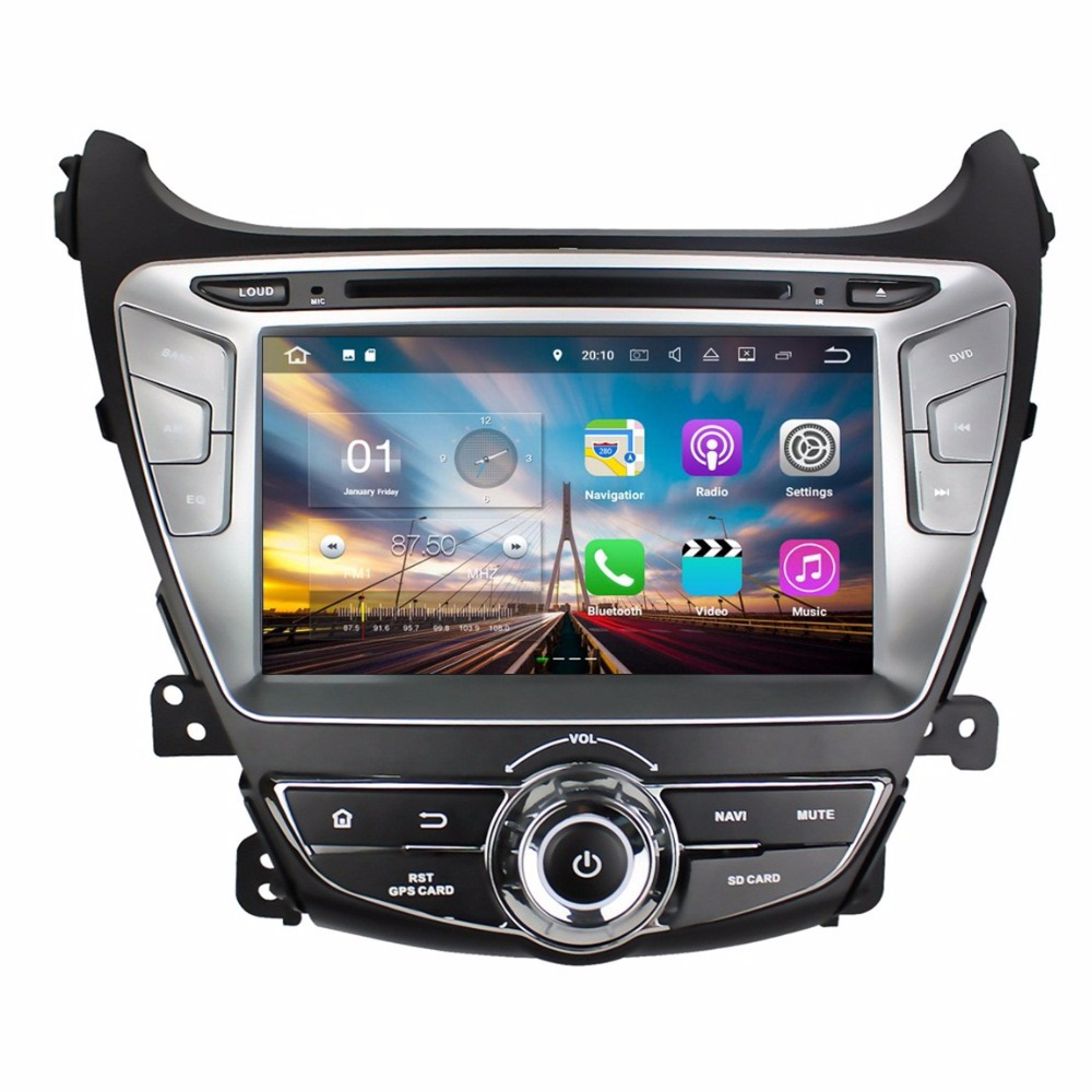 Android 7 1 Quad Core 8 Car font b radio b font dvd GPS Multimedia Head