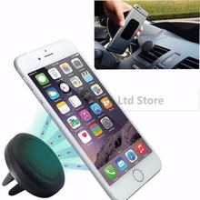 New Universal Small Black Magnetic Car Holder Air Vent Mount Holder Stand mobile phone holder For Phone GPS xiaomi hot selling