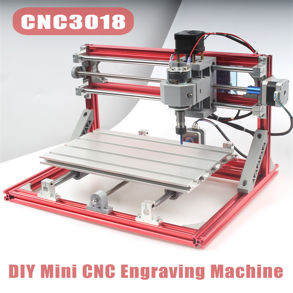 DIY Mini CNC 3018 Wood Engraving Carving PCB Milling Engraving Machine Router Engraver GRBL Control Aluminium and Plastic pcb milling machine diy 1309 cnc wood carving mini engraving machine pvc mill engraver support grbl control russia free tax