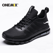 ONEMIX new running shoes for men air cushion high top shock absorption