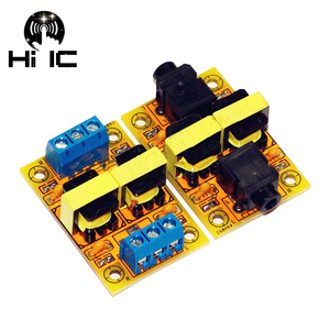 Image 2 - Expédition gratuite HiFi Audio isolateur acoustique Isolation du bruit élimination des interférences son filtre Isolation boucle de terre suppresseur