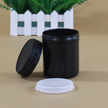 100PCS Portable Empty plastic bottle Makeup Jar 300ML Cosmetic Container Food Grade