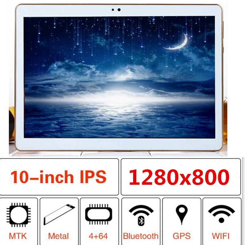 10.1 Inch Tablet Octa Core 1GB 2GB 4GB 6GB RAM 32 64 128 GB ROM 1280X800 IPS Android 9.0 GPS Bluetooth FM Wifi Tablets Tablet Pc