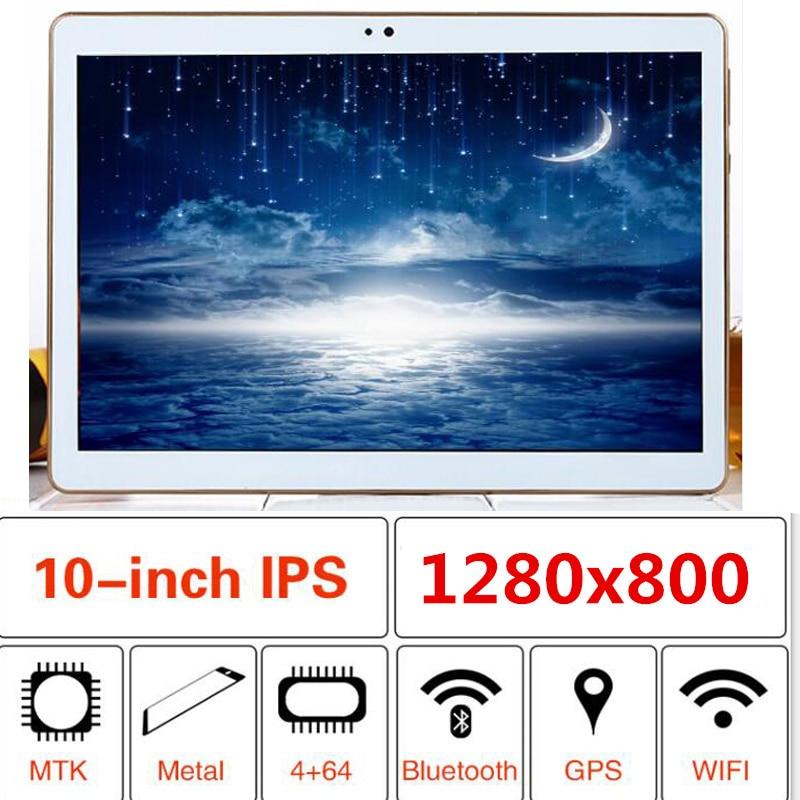 10.1 pouces tablette Octa Core 1 GB 2 GB 4 GB 6 GB RAM 32 64 128 GB ROM 1280X800 IPS Android 9.0 GPS Bluetooth FM tablettes Wifi tablette pc