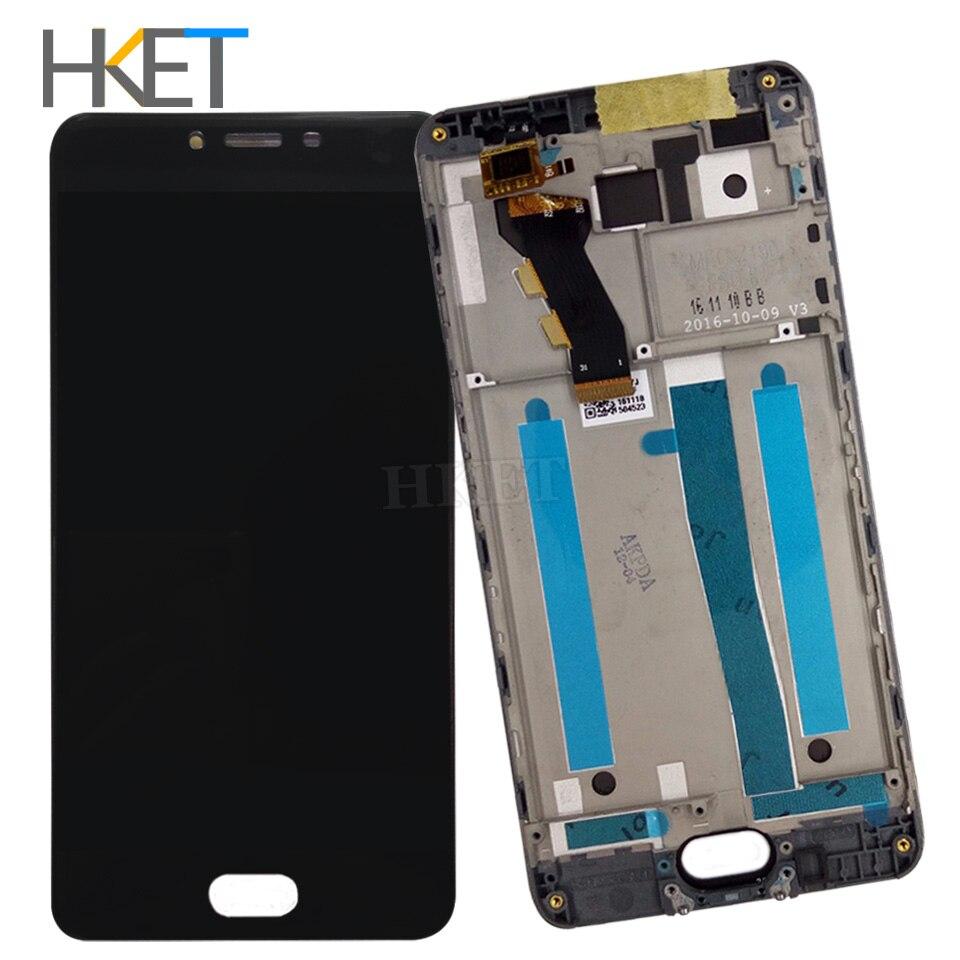 imágenes para Para Meizu M3 M3 s Lcd Display + Digitalizador de Pantalla Táctil con Piezas de Repuesto marco Para Meizu M3 Mini Y685C Y685Q Y685M Y685H