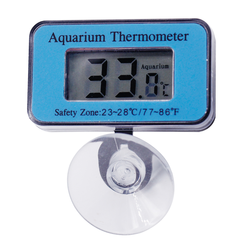 Digital LCD display Submersible Fish Tank  Aquarium thermometer waterproof Temperature Measuring  chuck temp tester -50C~70C