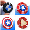 1pcs Hand Spinner Toys Fidget Spinner Captain America Shield Fidget Spinner EDC Hand Spinner For Interesting