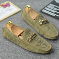 2017 New Fashion Luxury Men Loafers Moccasins Genuine Leather Shoes Casual Breathable Driving Shoes Flats zapatos hombre