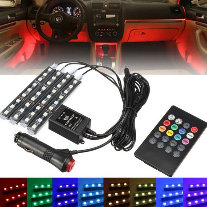 12V RGB LED Strip 5050 SMD Waterproof Flexible LED Backlight TV Kit Flat Screen LCD Desktop Computer Backlighting with IR Remote