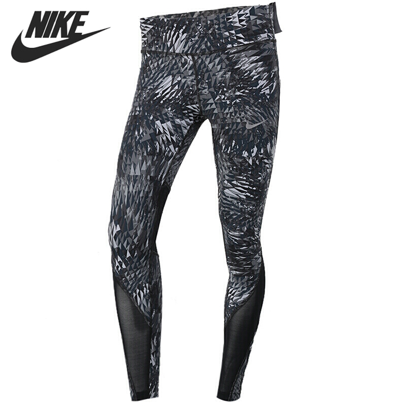 Original New Arrival 2017 NIKE AS W NK PWR EPIC LX TGHT PR Women's Pants Sportswear тайтсы nike тайтсы m nk pwr tght 3qt run