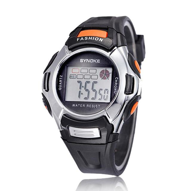 2018 Fashion Multifunction LED Kids Sports Digital Watch Waterproof Alarm Kids C