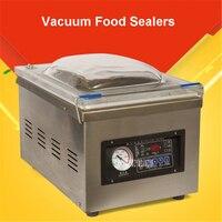 DZ 260 220 В/50 Гц пищевой вакуумный упаковщик, вакуумной упаковки вакуумной камере, алюминиевые мешки пищевой рис чай вакуум запайки