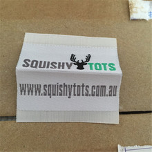 Free Shipping Customized garment shirt jacket labels/woven labels/clothing printed label/embroidered tag with cut 1000pcs a lot