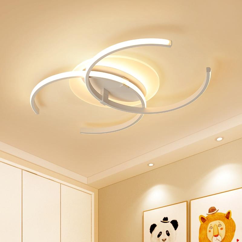 Aluminum + Acrylic Modern Led Chandelier Lights For Living Room Bedroom Square Indoor Ceiling Chandelier Lamp Fixtures
