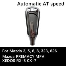 AT Car Gear Shift Knob For Mazda 3 5 6 8 323 626 PREMACY MPV XEDOS RX-8 CX-7 Automatic Lever Auto car Shift knob Stick headball