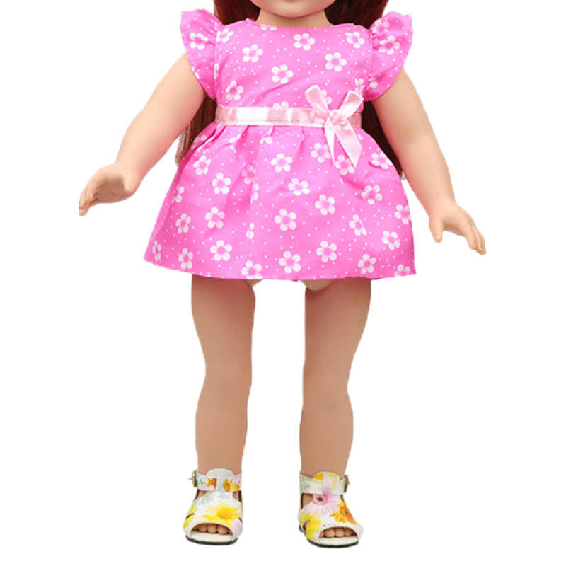 new fashion baby clothes for doll American doll clothes Ballet skirt princess dress 43cm toy new born doll accessories