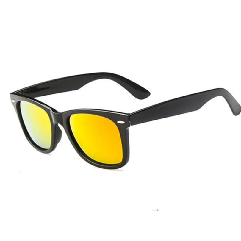 ca8671b95e Óculos Femininos masculinos óculos de Sol Óculos Moldura Preta UV400  Condução Óculos de Sol Das Mulheres Dos Homens em Óculos de sol de  Acessórios de ...
