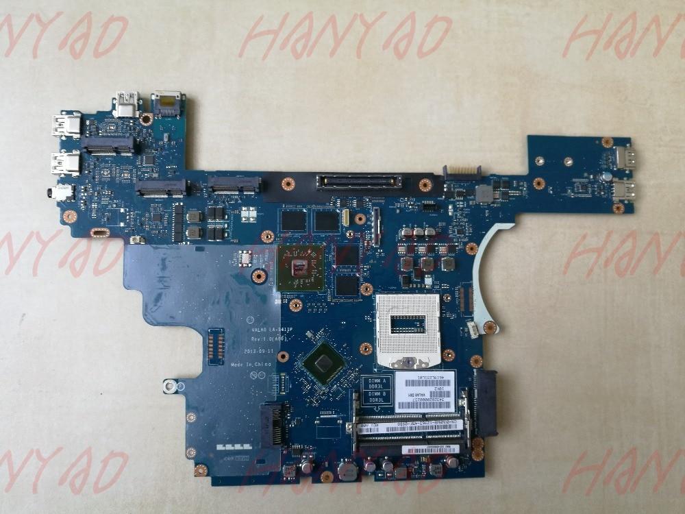 0VWNW8 CN-0VWNW8 для Dell E6540 материнская плата для ноутбука VALA0 LA-9411P DDR3L