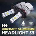 2x H4/9003/HB2 Hi-Lo Beam Car Headlight Bulbs Lamp Kit 72W 8000lm 6500K Front Fog Light Head Lamp For JEEP KIA TOYOTA FORD MAZDA