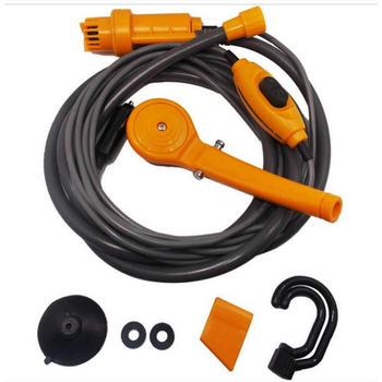 12V Portable Travel Camping ducha Car Pet Dog Shower 2020 Washer Electric Pump Outdoor Hiking Kit