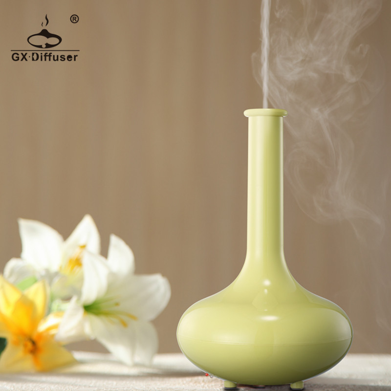 где купить GX.Diffuser GX-01K LED Aromatherapy Air Diffuser Essential Oil Diffuser Ultrasonic Humidifier Mist Maker Fogger Aroma Diffuser дешево