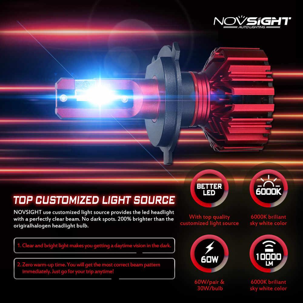 Комплект из 2 шт светодиодных , автомобильные светодиодные лампы H4 H7 H11 H8,  напряжение 12 В/24 В лампы автомобильных