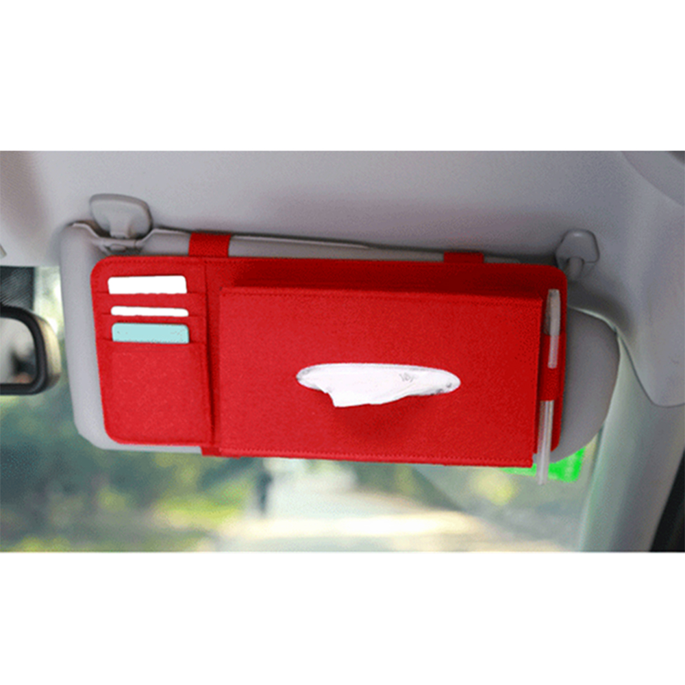 car tissue box case sun visor type hanging tissue box car. Black Bedroom Furniture Sets. Home Design Ideas