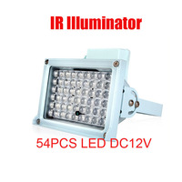 Free Shipping 50m/164ft Waterproof LED Lamp IR Illuminator for CCTV Camera Night Application