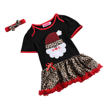 Summer Style Baby girls dress for Party  Princess Dresses tutu Childrens clothes Christmas Fashion Costume 1-5 years