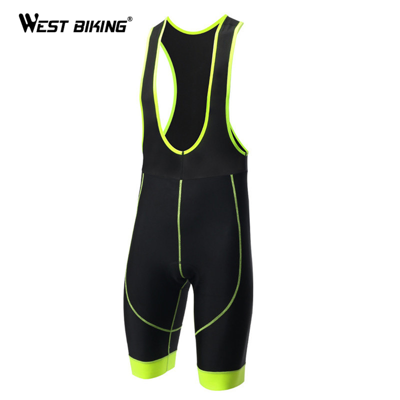 WEST BIKING Cycling Bib Shorts 3D Gel Padded Bicycle Sports Clothing Ciclismo Bicicleta Men Bike Riding Cycling Bib Shorts велошорты 15 051 men bib shorts s 922 c7 с лямками с памперсом c7 черные m funkierbike