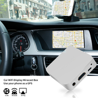 New MiraScreen Car WiFi Display Dongle WiFi Mirror Box Airplay Miracast DLNA GPS Navigation Car for iOS Android Phone Pad TV