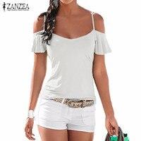 Hot Summer Beach T Shirt Women 2016 Fashion Blusas Casual Stretch V Neck Short Sleeve Tops
