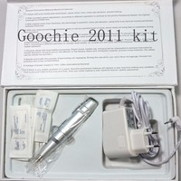 Goochie Permanente Make 2011 Klassieke Elektrische PMU Machine Professionele Digitale Tattoo Wenkbrauw Lip Body Pen Tattoo Machine Kits