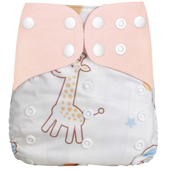 [Simfamily] Новые детские тканевые подгузники, регулируемые подгузники для мальчиков и девочек, Моющиеся Водонепроницаемые Многоразовые подгузники для новорожденных - Цвет: NO26