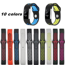 hot deal buy sanyu sport silicone band watchband for fitbit charge 2 bracelet smart wristbands watches fitbit accessories strap sanyu brand