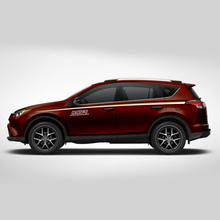 World Datong car styling sport sticker ForToyota Rav4 Auto Body Customized Decal Exterior Accessories
